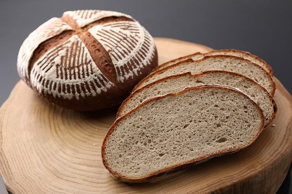 蕎麦のパン・ド・カンパーニュ