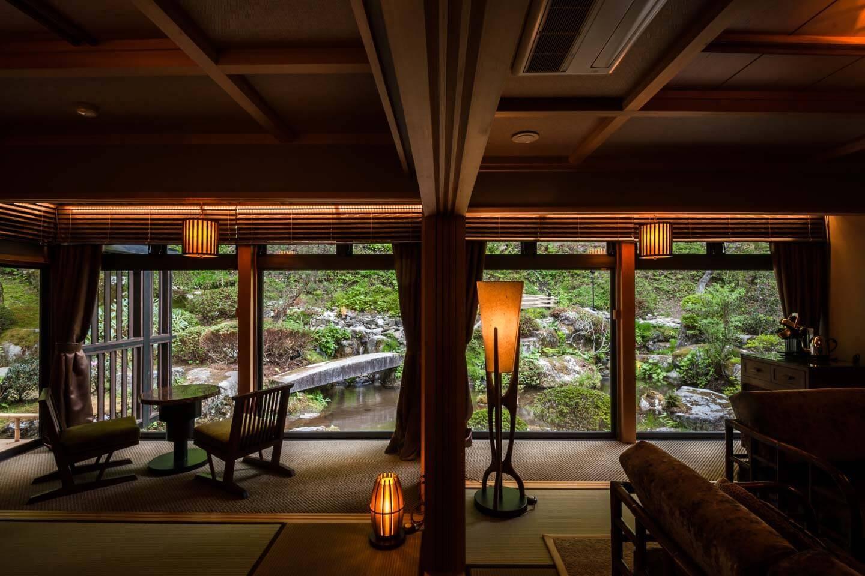 日本庭園セミスイートツイン