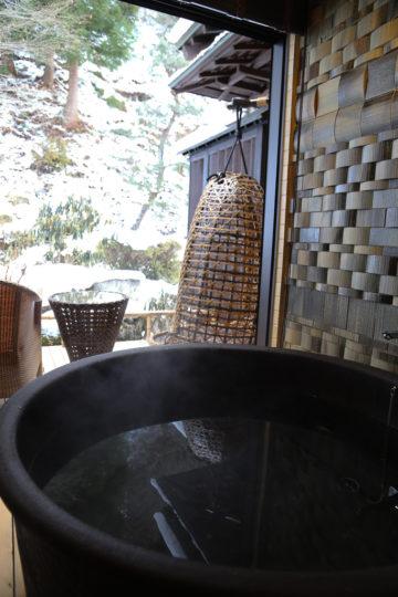 雪見風呂 長野県駒ヶ根市 季澄香 高級旅館